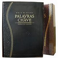 BIBLIA DE ESTUDO PALAVRAS CHAVE CLASSICA PRETA 9788526306837
