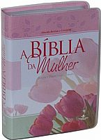 BÍBLIA DA MULHER RC CAPA COURO TULIPA 9788531112799