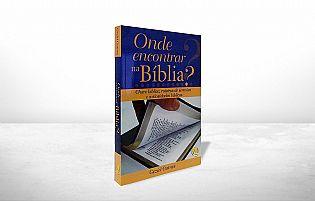 LIVRO ONDE ENCONTRAR NA BÍBLIA GEZIEL GOMES 9788576890720