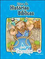 LIVRO DE HISTORIAS BIBLICAS PARA GAROTOS