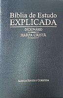 Bíblia de Estudo Explicada  Dicionário e Harpa 25546