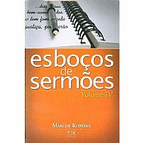 ESBOCOS DE SERMOES VOL 4 MARCOS KOPESKA 9788574591773