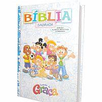 BIBLIA TURMINHA DA GRAÇA CAPA DURA MENINO 7898204172943