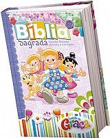 BIBLIA TURMINHA DA GRACA CAPA DURA MENINA 7898204172936