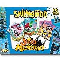 JOGO DA MEMORIA 18 PARES AZUL- SMILINGUIDO
