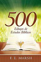 500 ESBOCOS DE ESTUDOS BIBLICOS 9788543500935