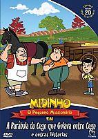 DVD MIDINHO A PARABOLA DO CEGO QUE GUIAVA OUTRO CEGO