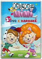 DVD E KARAOKÊ DUDU E MIMI DVD  2 EM 1 7897063614687