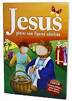 JESUS POSTER COM FIGURAS ADESIVAS