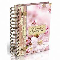 agenda 2018 maravilhosa graça floral rose pequena  7897601070364