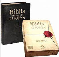 biblia de estudo da reforma preta