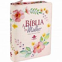 biblia da mulher rosa clara com ziper 7899938402085
