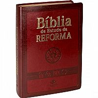 biblia de estudo da reforma vinho