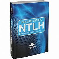 biblia de estudo NTLH AZUL 7899938402733