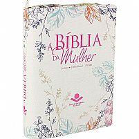 biblia da mulher cinza com flores  7899938402078