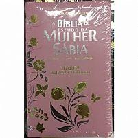 a biblia de estudo da mulher sabia rosa 9788565461085