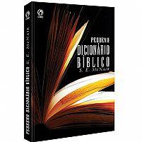 PEQUENO DICIONÁRIO BÍBLICO S.E MCNAIR 9788526310094