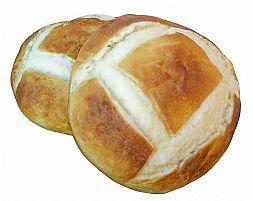 Pão Artificial Para Decorar Mesa De Santa Ceia Pão Italiano Tamanho Grande (GG)