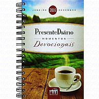 Presente Diario Momentos Devocionais 2016 Presente Diário Capa Dura Espiral9788589558532