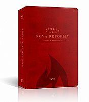 biblia nova reforma luxo vermelha