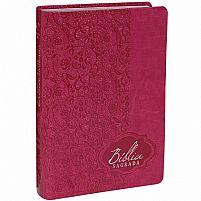 BIBLIA RA LETRA GIGANTE COM INDICE RENDA PINK 7898521814441