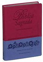 BIBLIA RA LETRA EXTRAGIGANTE GOIABA/MALVA