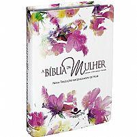 BIBLIA DA MULHER NTLH AQUARELA 9788531113956