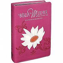 BIBLIA DA MULHER NTLH MARGARIDA 7898521815615