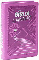 BIBLIA CAMINHO NTLH CAPA COURO SINTETICO ORQUIDEA 7898521804626