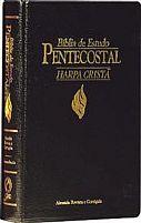 BIBLIA DE ESTUDO PENTECOSTAL MEDIA HARPA PRETA