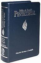 BIBLIA DE ESTUDO PENTECOSTAL MEDIA AZUL