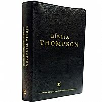 BIBLIA THOMPSON COVERTEX PRETA