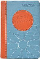 A BIBLIA DA GAROTA DE FE LARANJA NTLH  9788573258479