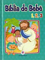 BIBLIA DO BEBE 1,2,3   9788538035763