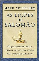 As Lições de Salomão Mark Atteberry 9788578606985