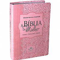 BIBLIA DA MULHER RA ROSA CLARO BAIXO RELEVO MEDIA   RA065BMRA2