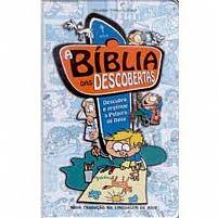 A BIBLIA DAS DESCOBERTAS CAPA PLASTIFICADA AZUL