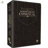 BIBLIA DE ESTUDO DESPERTAMENTO ESPIRITUAL PRETA