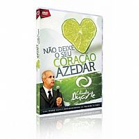 DVD NÃO DEIXE SEU CORAÇÃO AZEDAR - PR CLAUDIO DUARTE