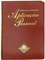 BIBLIA DE ESTUDO APLICAÇÃO PESSOAL GRANDE VINHO