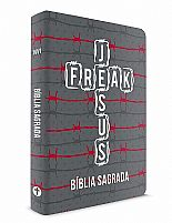 Bíblia Jesus Freak Capa dura Semiluxo - Arame