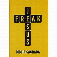 Bíblia Jesus Freak Capa Dura - Amarela