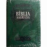 BIBLIA RA LETRA GRANDE VERDE ESCURO (P)