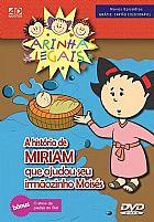 DVD CARINHAS LEGAIS A HISTORIA DE MIRIAM QUE AJUDOU SEU IRMÃO MOISÉS