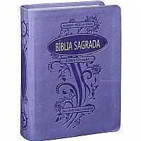 BIBLIA RC COM INDICE DIGITAL CAPA SINTETICA VIOLETA 7898521816940