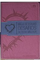 BIBLIA DE ESTUDO DESAFIOS DE TODA MULHER ROSA