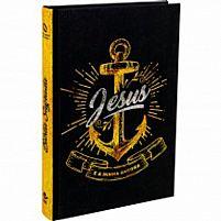 BÍBLIA JESUS É MINHA ÂNCORA - PRETA - NAA