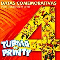 DATAS COMEMORATIVAS 4 TURMA DO PRINTY