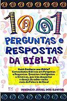 Livro 1001 perguntas e respostas da Bíblia (Venâncio Josiel dos Santos)