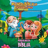 MUNDO BIBLICO EM QUERA CABEÇA MARAVILHAS DA BIBLIA